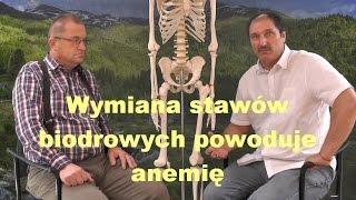 Wymiana stawów biodrowych powoduje anemię – Aliaksandr Haretski