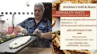 Sales of Jingalov Hats (bread) to benefit the ARS Artsakh Fund.