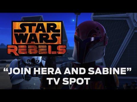 Star Wars Rebels (Promo 'Join Hera and Sabine')