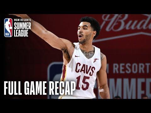 Video: BULLS vs CAVALIERS | Mitrou-Long Shines Again In Win | MGM Resorts NBA Summer League