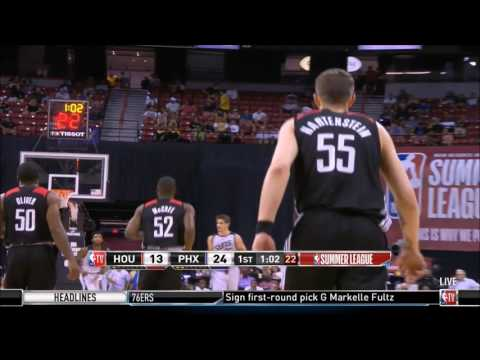 Isaiah Hartenstein's beautiful fullcourt touchdown pass