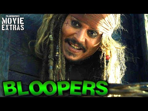 Pirates Of The Caribbean: Dead Men Tell No Tales Bloopers & Gag Reel [Blu-Ray/DVD 2017]