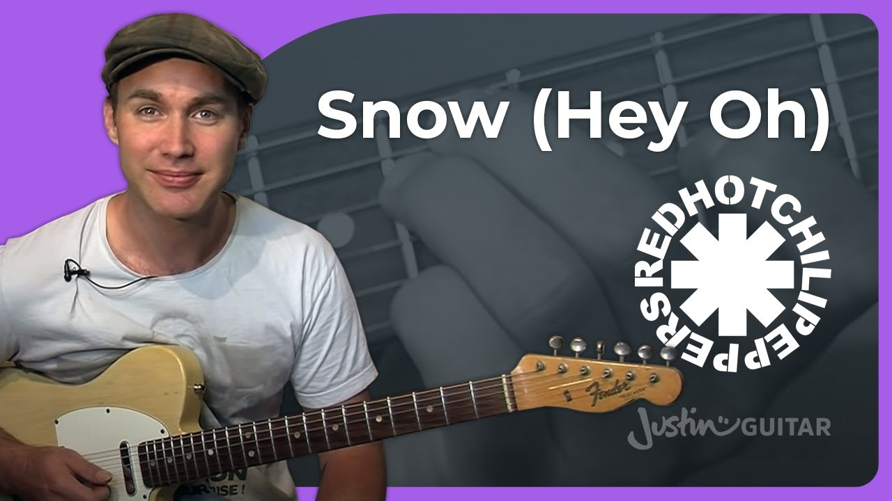 Snow (Hey Oh) – Red Hot Chili Peppers (Songs Guitar Lesson RF-020) How to play