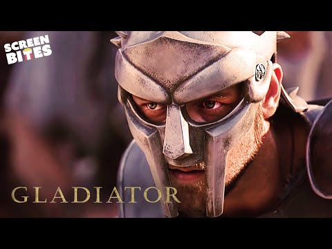 Gladiator   His Name Is Maximus!   Russell Crowe and Joaquin Phoenix (видео)