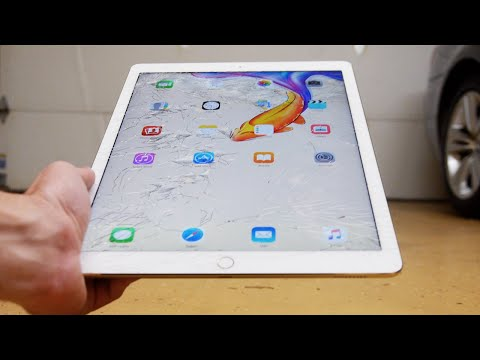 iPad Pro Durability Drop Test!