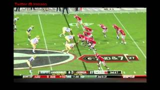 Aaron Murray vs Vanderbilt 2012
