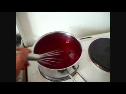 Johannisbeer Marmelade und Dessert selber machen