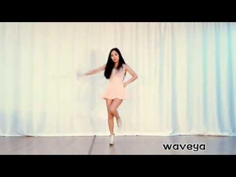 Gái Xinh Hàn Quốc Dance - Waveya Ari APINK