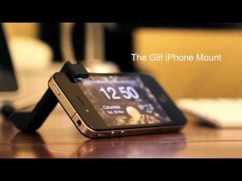 glif - A review of The Glif iPhone tripod mount and stand. Glif: http://www.amazon.com/gp/product/B0052G679K/ref=as_li_tf_tl?ie=UTF8&tag=theadvofmat-20&link_code=as...