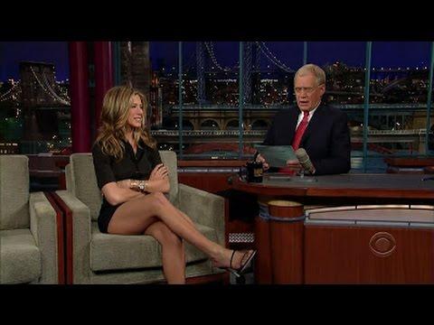 Jennifer Aniston on David Letterman Most Hilarious Interview