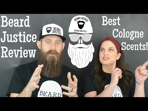 Beard oil - Beard Justice Review + GIVEAWAY! Cologne Scents - Amazing!