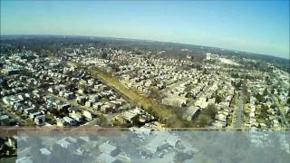 So far she made it to, 268.1 meters.Second video for drone test #2 newer.  Hubsan H502S great flight