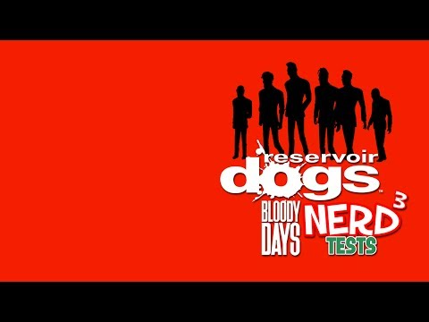 Nerd³ Tests... Reservoir Dogs: Bloody Days - Mr. Red