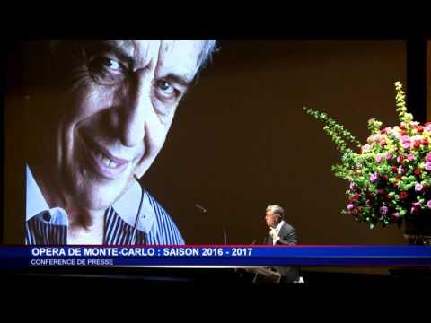 L'Opéra de Monte-Carlo dévoile sa programmation 2016-2017