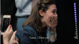 Video Surprise Proposal on The Ride NYC - Chad & Liana - 5.14.16 MP3, 3GP, MP4, WEBM, AVI, FLV Agustus 2018