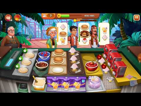 Level 151-160 Cooking Madness - A Chef's Restaurant Games (3 Stars Only (Hard))