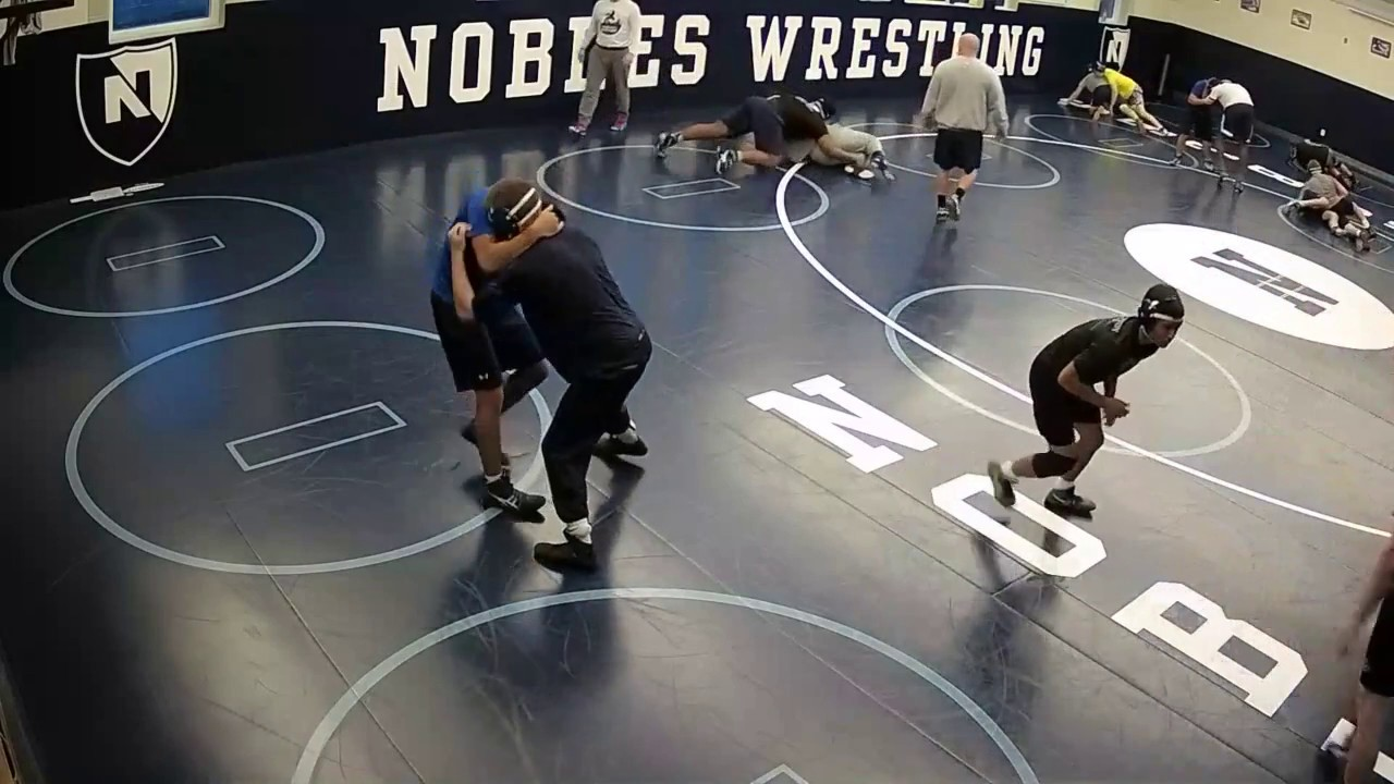 Nobles Wrestling finishes first season training with SmartCourt technology