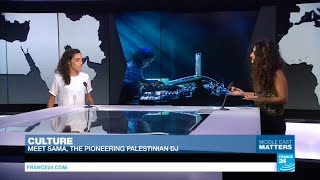 Subscribe to France 24 now:http://f24.my/youtubeENFRANCE 24 live news stream: all the latest news 24/7http://f24.my/YTliveENMusic: Meet Sama Abdulhadi, the pioneering Palestinian DJ!Visit our website:http://www.france24.comSubscribe to our YouTube channel:http://f24.my/youtubeENLike us on Facebook:https://www.facebook.com/FRANCE24.EnglishFollow us on Twitter:https://twitter.com/France24_en