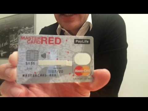 MasterCard Red - Prepaid Kreditkarte von PayLife