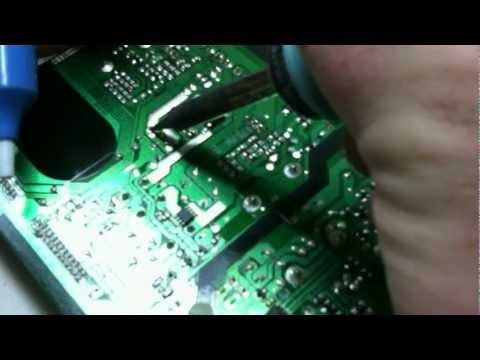 Samsung LCD TV Power Supply Repair, Capacitor Replace, LN46A630