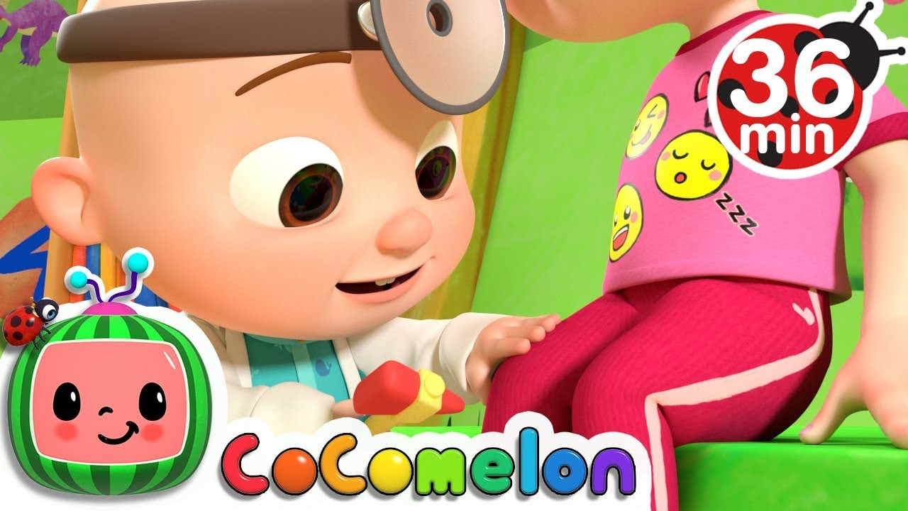 The Doctor Checkup Song + More Nursery Rhymes & Kids Songs - CoCoMelon - YouTube
