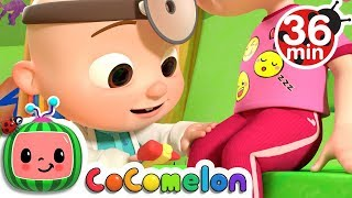 Video The Doctor Checkup Song + More Nursery Rhymes & Kids Songs - CoCoMelon MP3, 3GP, MP4, WEBM, AVI, FLV Juni 2019