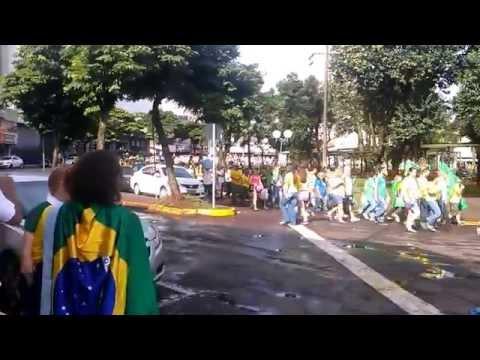 Protestos do dia 15/03/2015 em Apucarana