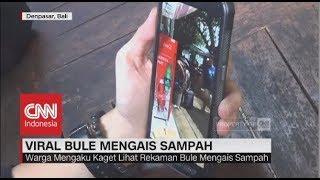 Viral Bule Mengais Sampah di Pulau Bali
