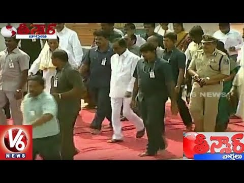 CM KCR Visit Yadadri And Inspects Development Works In Temple | Teenmaar News