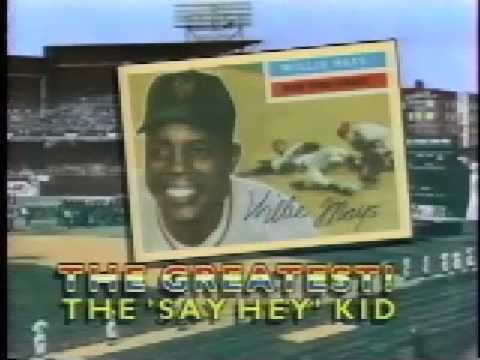 willie mays - Here are several well-known baseball broadcasters commenting on the greatest player they ever saw. Clip is from Ball Talk: Baseball's Voices of Summer, a DVD...