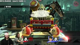 NairoMK (Ryu) vs. Vince? (Dedede) fight starts at 02:16
