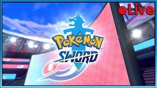 Pokemon Sword - Gym Challenge! - • Live