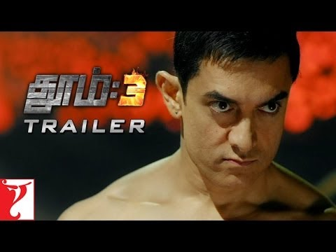 Tamil: DHOOM:3 - Official Trailer   Aamir Khan   Abhishek Bachchan   Katrina Kaif   Uday Chopra