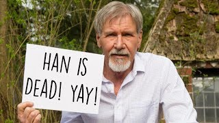 Video Why Does Harrison Ford Hate Han Solo? (Re-upload) MP3, 3GP, MP4, WEBM, AVI, FLV Juli 2018