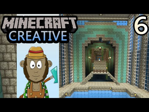 4th - Minecraft 4th World - Back to the underwater city, I'll get started on two large buildings with guardians and prismarine. Enjoy! SUBSCRIBE to MONKEYFARM: http://bit.ly/VwOqXZ Follow me on...