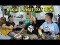 Download Lagu Bagai Langit Dan Bumi - Nathan Fingerstyle + Kendang Irfan + Iwan   Via Vallen   Nella Kharisma Mp3 Free