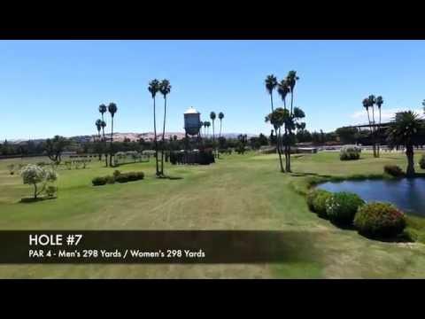 Pleasanton Golf Center Drone Flyover
