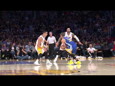 Video: Stephen Curry Scores 30 and Dishes 15 to Beat L.A.