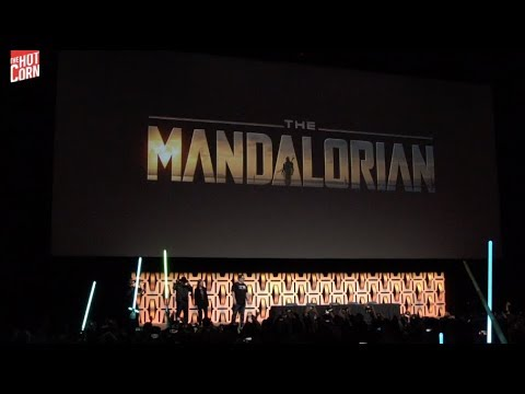 THE MANDALORIAN | Jon Favreau, Pedro Pascal and the rest of cast @ Star Wars Celebration | HOT CORN