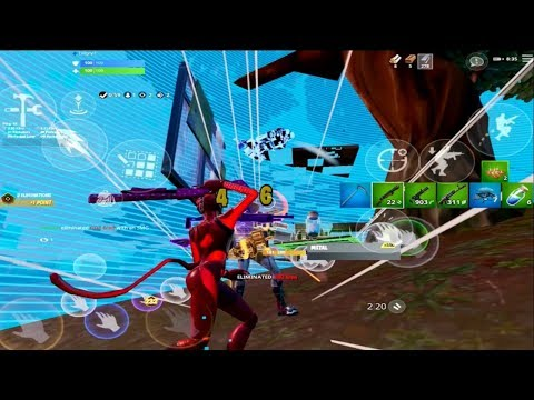 Mobile Quality Better Than PC - Fortnite Arena Highlights