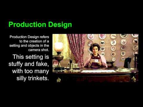 Film Tutorial #4: Production Design
