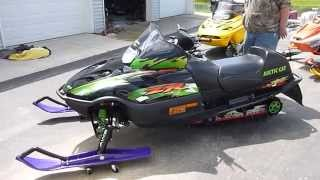 8. 2001 Arctic Cat ZR800 Limited Edition Cross Country For Sale Parting Out Only