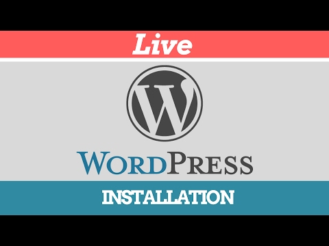 🔴 Live WordPress Installation-Step By Step Tutorial