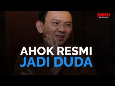 Ahok Resmi Jadi Duda