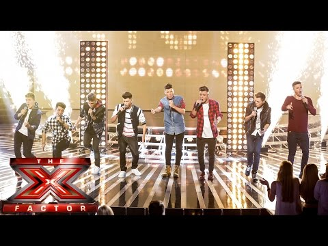 stereo - Visit the official site: http://itv.com/xfactor What has 16 legs, 80 fingers and Roar's louder than a pack of lions? Stereo Kicks of course. These boys knock...