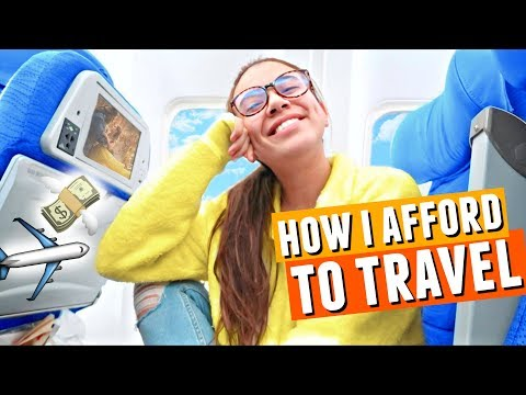How I Afford To Travel The World All The Time? 💸 + Tips for SAVING money when you're a student