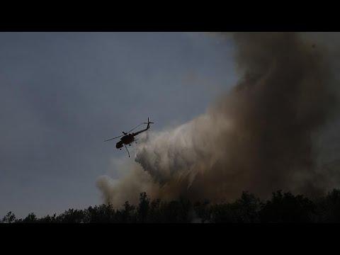 Εύβοια: Σε εξέλιξη η πυρκαγιά – Μάχη με τις αναζοπυρώσεις…