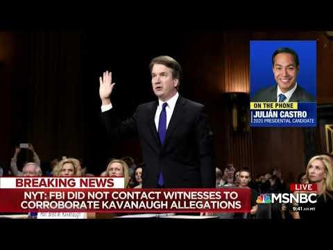 Dr. Jason Johnson on Investigation of SCOTUS Kavanaugh Confirmation #AMJoy