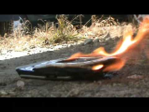 c7viper Airsoft Bloopers - Cell Phone Fire
