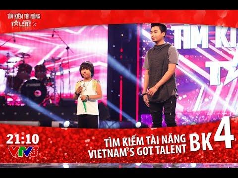 Vietnam's Got Talent 2016 BÁN KẾT 4 - TẬP 12 Full (01/04/2016)
